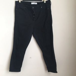 GAP True Skinny Super High Rise Button Fly Jeans